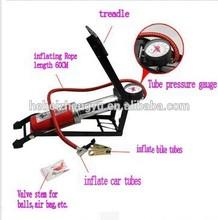folded foot operated air pump_steel foot-operated air pump_bicycle and air balls foot-operated air pump
