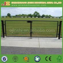 1m height Green home yard safety Livestock decorative metal Garden Gate