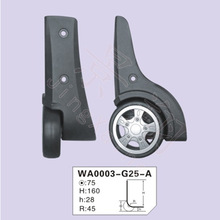 Luggage Rubber Wheel Inflatable Trolley Plastic Portable Luggage Wheel For Shopping Trolley Bag