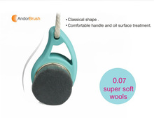 New Product Super Soft Wool Deep Cleaning Brush Facial Cleansing Brush