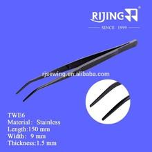 Sewing machine parts accessories Twe6 / high precision stainless steel tweezers