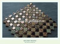 Metal Mix Stone Mosaic