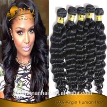 Best quality unprocessed brazilian remy virgin human fake hair