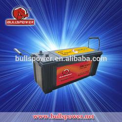12v/24v 110ah yokohama battery for trucks
