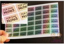 Retail Packaging Custom Printing Sticker Notice
