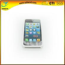 Dongguan White Silicon DIY Phone Cover