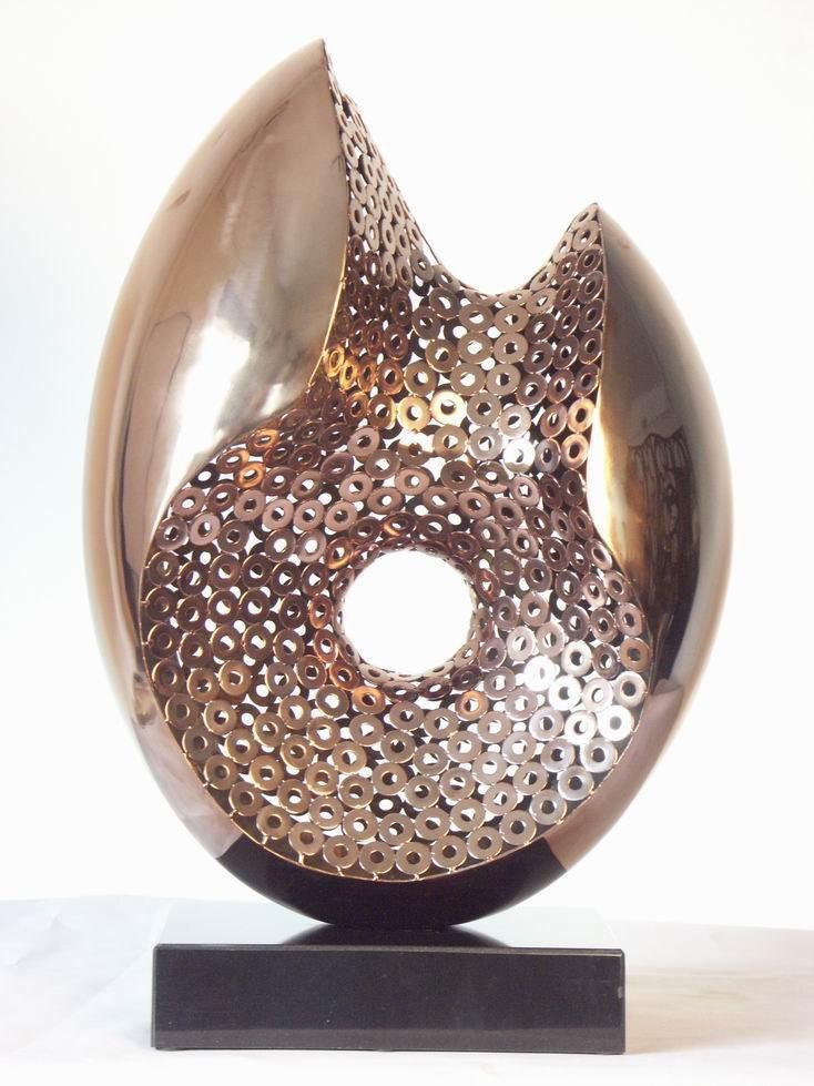 Sculpture abstraite jardin pas cher bureau d coration pour le nouvel an art - Sculpture moderne pas cher ...