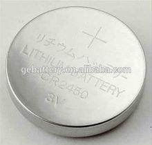 GEB 3V button battery cell CR2450 600mAh