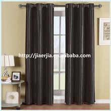 latest pop designed blackout hotel linen window curtain