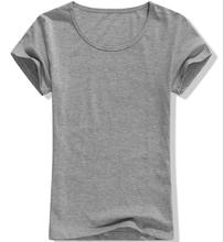 Bulk Plain Design Women Fitted Blank T-Shirts