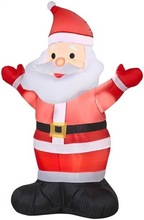 Hot-selling christmas decoration 25ft christmas inflatable santa