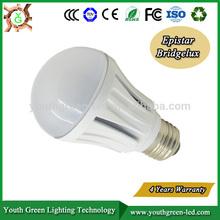 5 years warranty CE RoHS TUV UL A60 E27 7W 10w Led Bulb Light,850lm,Cri 80,150deg.65-80w Incandescent Replacement,led light bulb