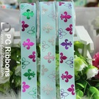 Good quality polyester grosgrain ribbons imported