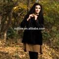 2014 de inverno da moda por atacado pequena quente jaqueta feminina manga comprida pelagem curta