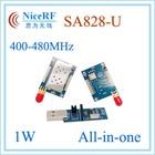 1W 5km long distance SA828-U uhf walkie talkie 400MHz to 480MHz