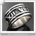 2014 Stainless Steel Souvenir Custom Signet Ring Men