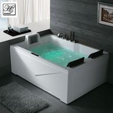 HS-BC667 white rectangle free sex usa massage bath tub with sex video tv