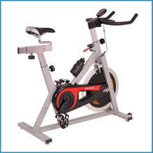 white bike spinning, exercise bike, spin bike