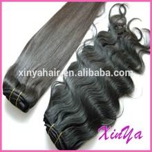 100% human hair guarantee 7a virgin Natural Black premium now hair weave