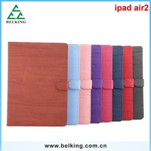 Wood pattern for iPad air 2 leather case / for iPad leather case