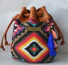 Alibaba hot sale bag design ethnic shoulder bag for women