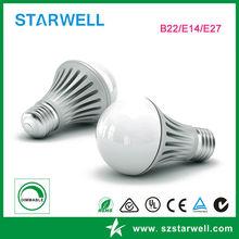 Epistar SMD 3w E14 led lighting bulb