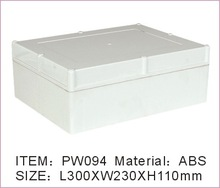 Watertight ABS plastic electronics project boxes enclosure