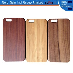 Genuine Natural Real Wood Bamboo Case Cover for iPhone 6 Plus Wooden Case