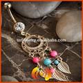 popolare stile indiano anello di pancia Dream Catcher piercing gioielli ingrosso