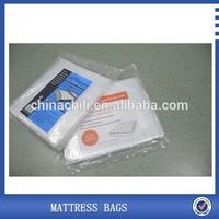 PE plastic packaging bag for mattress