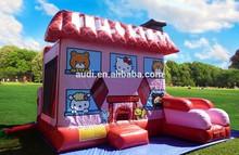 Newest desgin combo games,bounce house combo,bouncy castle combo