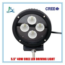 High efficient off road 5.5inch 40w led driving light offroad driving light