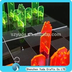 Customize laser cut acrylic chess