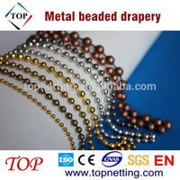 Ball chain/Metal beaded curtain/Metal beaded drapery