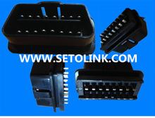 2014 BEST BLACK J1962 OBDII 16 PIN ADAPTER CONNECTOR PLUG