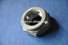 Carbon steel hex lock nut