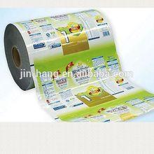 ISO/QS Certificate Custom Printed Food Packaging PE Plastic Film Roll With Best Price