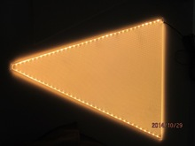 led light panel LGP fro wall and wedding decorative panel ligjht