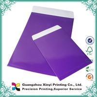 Bulk custom mini brown kraft paper envelop