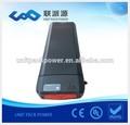 Li - ion 500 w porte - bagages arrière ebike vélo électrique batterie 36 v 9ah