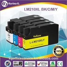 Golden supplier inkjet ink cartridge L-LM210XL use for Lexmark