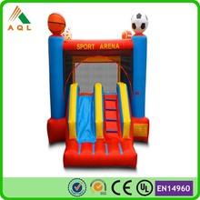 popular inflatable combo adult bouncy castel slides