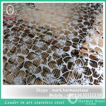 best selling products mirror etched 316 Titanium Coated Stainless Steel Sheet