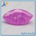 ماركيس الشكل الوردي الأحجار الكريمة كبيرة جدا لجلب الحظ السعيد