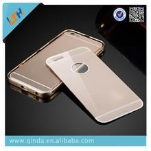 PC back aluminium bumper case cover for iphone 6 plus