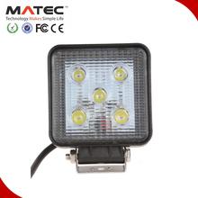 Hotsale Long Working Time Multifunctional 15w 12v led work light Spot/Flood