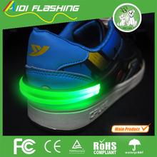 fashion shoe clip led flashing shoe clip waterproof flashing shoe clip
