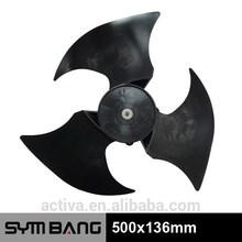 500x136mm plastic air conditioner fan blade (bl500-3b)