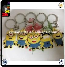 Cheap Key Shaped Personalized Keychains & Promotional Custom Soft Plastic Key Chains