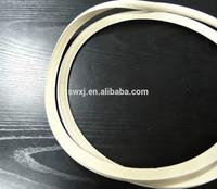 sealing gasket for grooved metal bucket